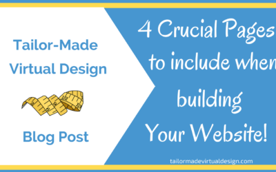 4 Crucial Pages To Include When Building Your Website