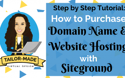 Step by Step Tutorial Purchasing Hosting with Siteground