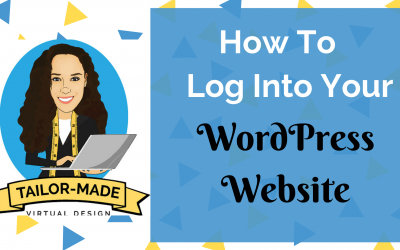 How To Log Into Your New Website